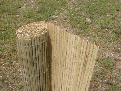 Bambová rohož na ploty nebo zdi