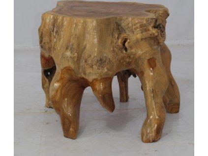Konfereční  stolek z jednoho kusu masivního dřeva Jess