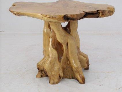 Originální masivní stolička Emilia