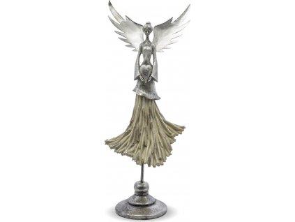 Figurka anděla na stojanu 124411