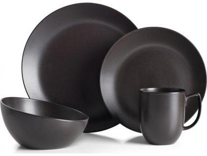 Sada kameninového nádobí Orbit - Celestial Black, 4ks - Nambé