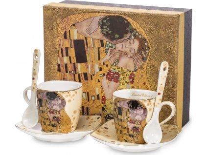 Espresso set Gustav Klimt