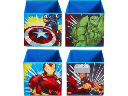 Dětské úložné boxy Avengers