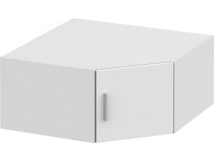 Nástavec na skříň, bílá, INVITA  TYP 8