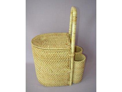 Ratanový košík piknik