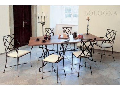Kovaný stůl BOLOGNA