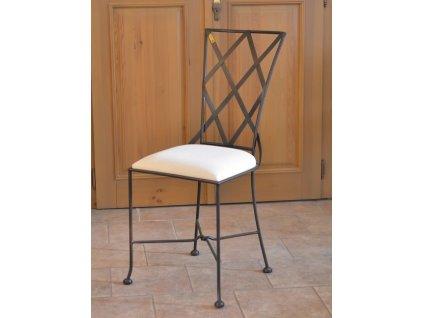 Kovová židle BOLOGNA