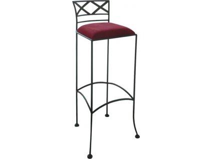 Kovová barová židle BOLOGNA