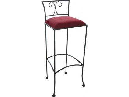 Kovaná barová židle JAMAICA