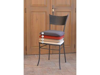 Kovová židle CARCASSONNE