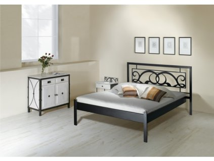 Kovová postel GRANADA