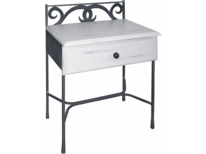 Noční stolek GRANADA se zásuvkou