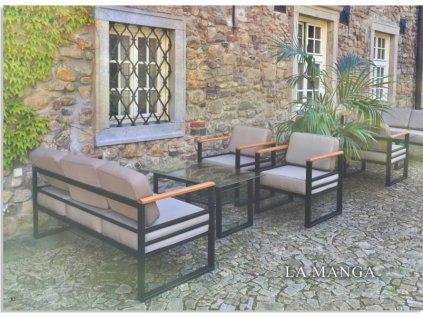 Kovový stolek LA MANGA
