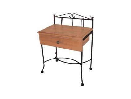 Noční stolek SARDEGNA se zásuvkou