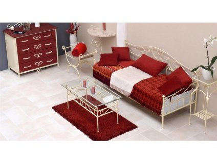 Kovaný gauč MALAGA