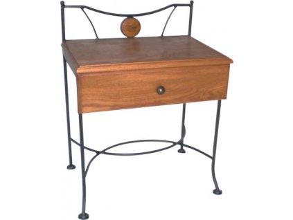 Noční stolek STROMBOLI se zásuvkou