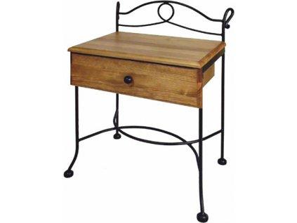 Noční stolek MODENA se zásuvkou
