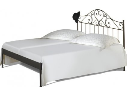 Kovaná postel MALAGA kanape
