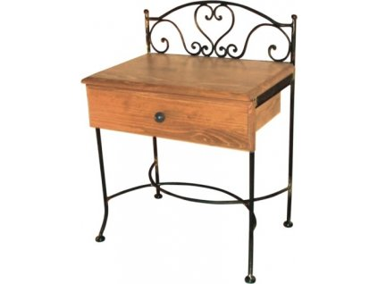 Noční stolek MALAGA se zásuvkou