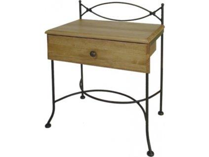 Noční stolek THOLEN se zásuvkou