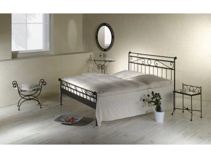 Kovaná postel ROMANTIC