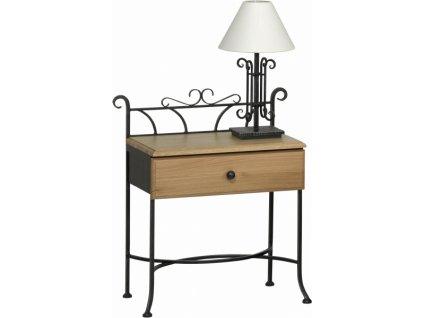 Noční stolek ALTEA se zásuvkou