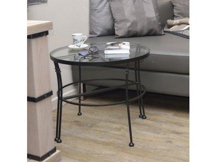 Půlkruhový stolek ANDALUSIA