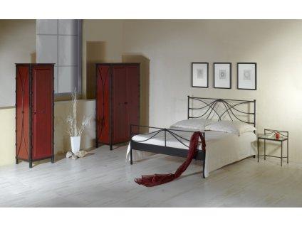 Kovaná postel CALABRIA
