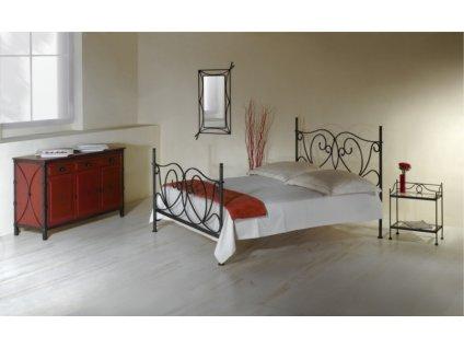 Kovaná postel GALICIA