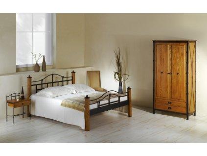 Kovová postel ALCATRAZ