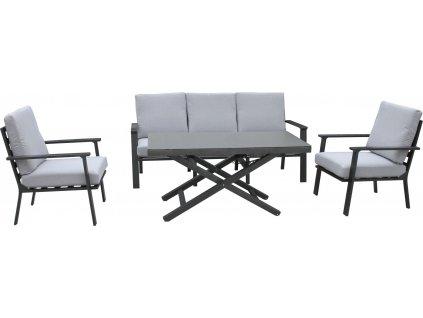 HAITI - hliníková zahradní sedací sestava