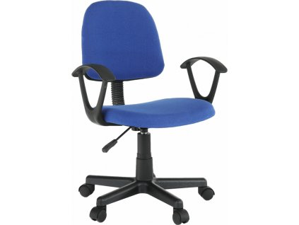 811/5000Kancelářská židle, modrá / černá, TAMSON