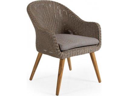 Záhradná stolička ALFORD - Béžová
