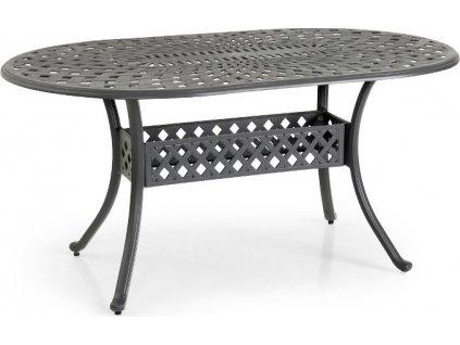 Záhradný oválny stôl ARRAS - Antracit