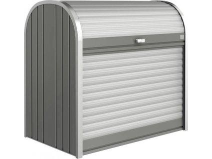 Úložný box STOREMAX sivý - 190 x 97 x 136cm
