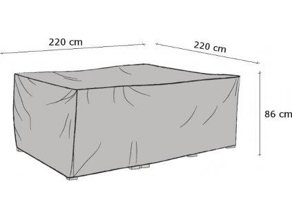 Ochranná plachta 220 x 220 cm