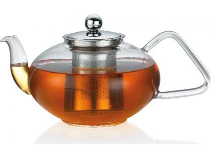 Konvice na čaj TIBET od 0,4 L sklo/nerez - Küchenprofi Objem: 1,2 l
