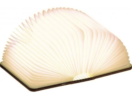 """Rozkládací světlo """"Smart Book"""" mini, ořech - Gingko"""