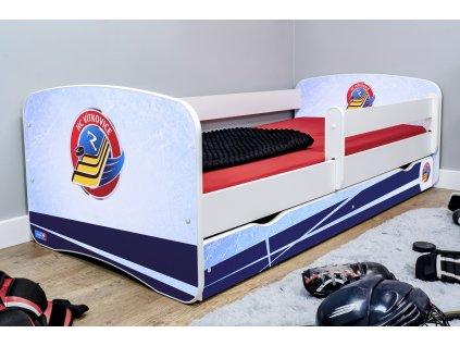 Dětská hokejová postel - HC VÍTKOVICE RIDERA