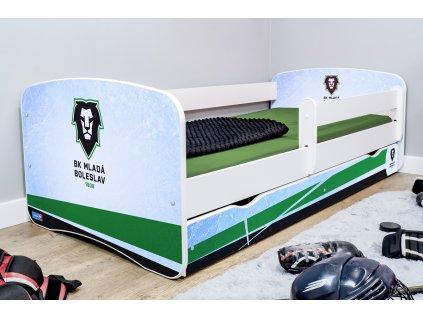 Dětská hokejová postel - BK Mladá Boleslav