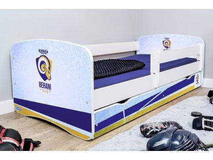 Dětská hokejová postel - PSG Berani Zlín