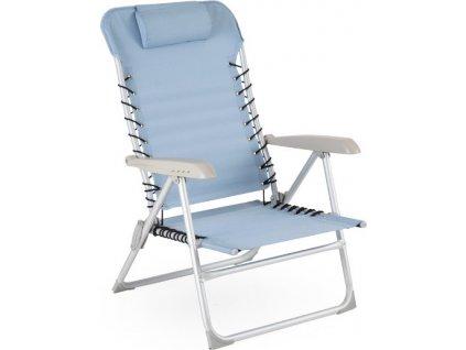 Kempingová stolička ULRIKA - Modrá