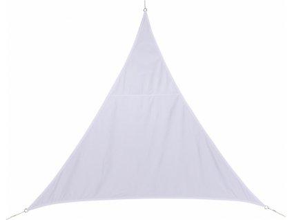 Stínící plachta trojúhelník 2m - bílá