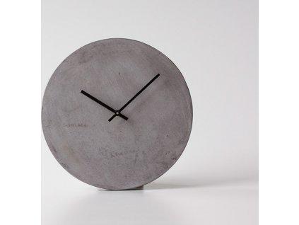 Betonové hodiny Toolbar - Kohoutek Old Wood