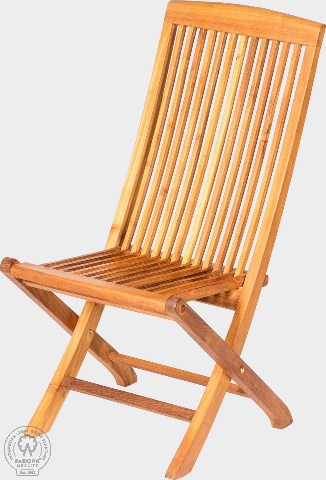 FaKOPA Teaková židle na zahradu Sophie
