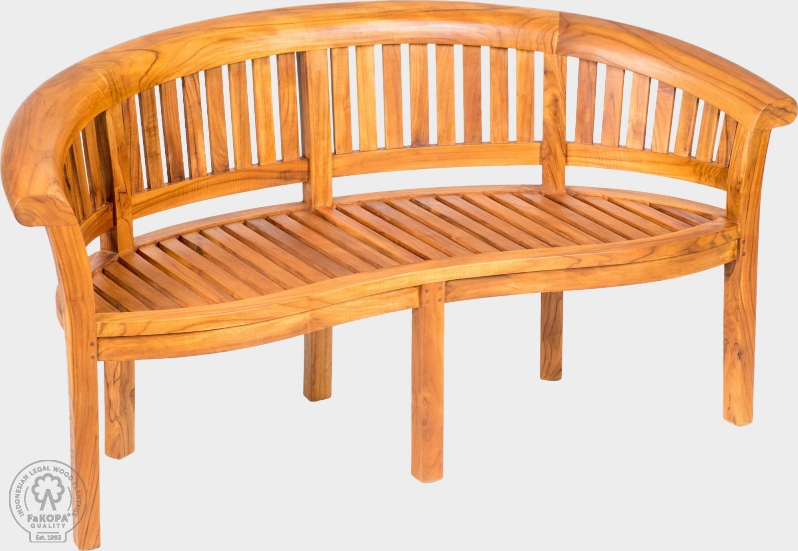 FaKOPA Zahradní stůl ledvinkového tvaru Inga