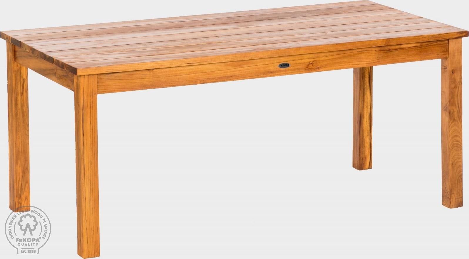 FaKOPA Dřevěný jídelní stůl Marta