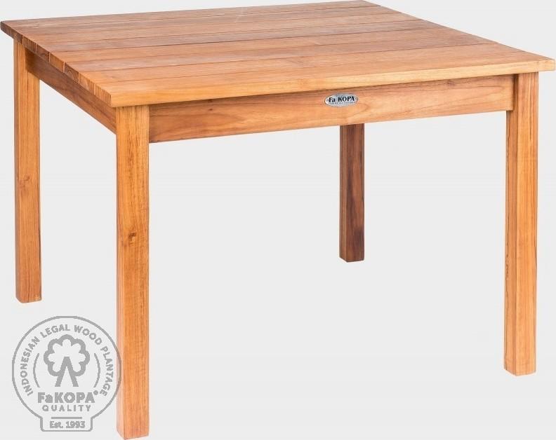 FaKOPA Dětský dřevěný stolek z teakového dřeva Nelly
