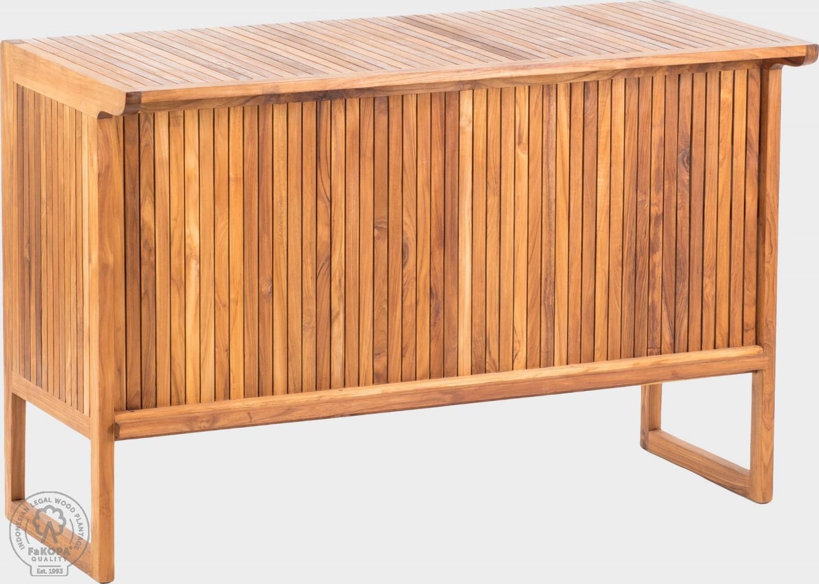 FaKOPA Barový pult z masivního dřeva Dalia