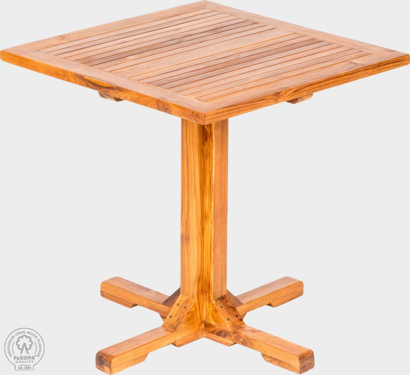 FaKOPA Luxusní venkovní stůl z masivního dřeva Gracia